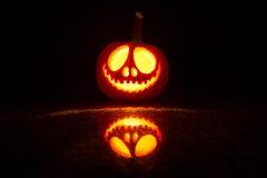 Zucca Halloween immagine stock