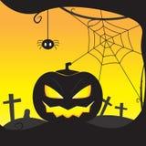 Zucca Halloween fotografia stock