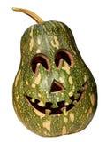 Zucca Halloween verde Immagine Stock Libera da Diritti