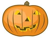 Zucca isolata di Halloween Immagine Stock Libera da Diritti