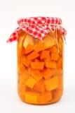 Zucca marinata Immagini Stock