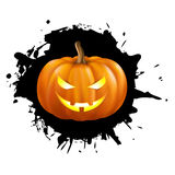 Zucca per Halloween Fotografie Stock Libere da Diritti