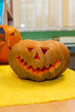 Zucca per Halloween Immagini Stock