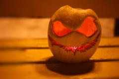 Zucca per la notte di Halloween fotografia stock