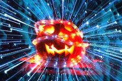 zucca piacevole di Halloween Fotografie Stock Libere da Diritti