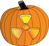 Zucca radioattiva V2 Fotografia Stock Libera da Diritti