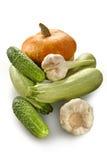 Zucca, zucchini, cetrioli fotografie stock