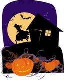 Zucche di Halloween illustrazione vettoriale