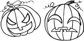 Zucche di Halloween - illustrazione di BW Royalty Illustrazione gratis