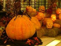 Zucche intagliate di Halloween Immagini Stock Libere da Diritti