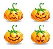 Zucche per Halloween Fotografia Stock Libera da Diritti