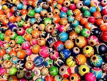 Zucche verniciate Fotografia Stock