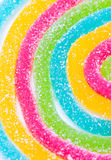 Zuccheri canditi della gelatina. Fotografie Stock Libere da Diritti