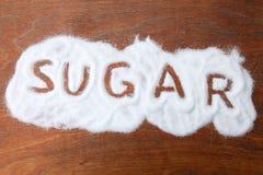 zucchero Fotografia Stock Libera da Diritti