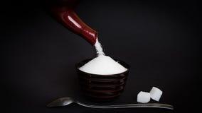 zucchero fotografie stock