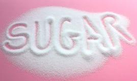 Zucchero bianco Fotografie Stock Libere da Diritti