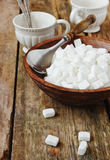 Zucchero bianco Immagini Stock Libere da Diritti