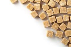 Zucchero bruno Immagine Stock