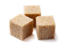 Zucchero bruno Fotografie Stock Libere da Diritti