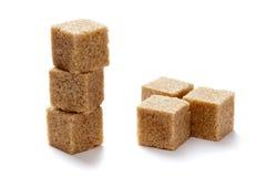 Zucchero bruno Immagini Stock