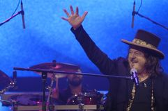 Zucchero in Concert Royalty Free Stock Images