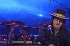 Zucchero in Concert royalty free stock photo