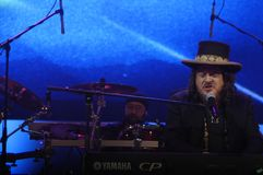 Zucchero de concert Photo stock