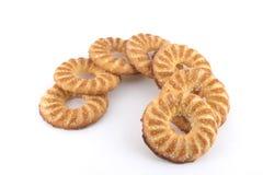 Zucchero del biscotto all'anello di forma Fotografia Stock Libera da Diritti
