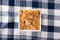 Zucchero del caramello Fotografie Stock