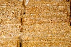 Zucchero del sesamo Immagine Stock