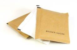 Zucchero di Brown Immagine Stock