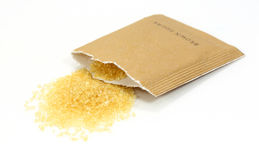 Zucchero di Brown Fotografia Stock Libera da Diritti