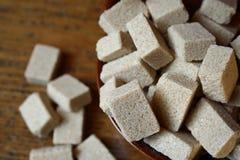 Zucchero di Brown Immagine Stock Libera da Diritti