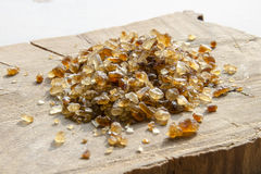 Zucchero di canna di Brown Fotografia Stock