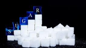 Zucchero di consumo fotografie stock libere da diritti