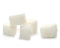 Zucchero di grumo immagine stock