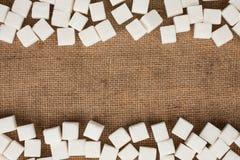 Zucchero di grumo fotografia stock libera da diritti