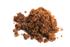 Zucchero di muscovado di Brown Immagini Stock Libere da Diritti