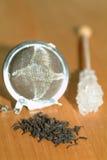 Zucchero e tè Fotografie Stock Libere da Diritti