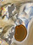 Zucchero e vitamina Crystalized immagine stock