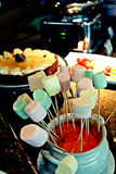 Zucchero filato Immagine Stock