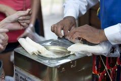 Zucchero filato tailandese Rolls Fotografia Stock