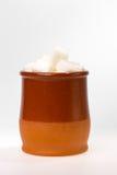 Zucchero nella tazza Fotografie Stock Libere da Diritti