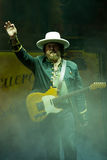 Zucchero performs live Royalty Free Stock Images