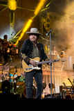 Zucchero performs live Royalty Free Stock Photo