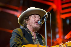 Zucchero performs live Royalty Free Stock Photography