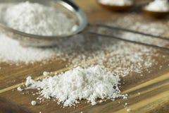 Zucchero in polvere confettieri dolci di Organaic immagine stock libera da diritti