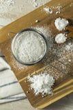 Zucchero in polvere confettieri dolci di Organaic fotografia stock