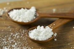 Zucchero in polvere confettieri dolci di Organaic immagini stock libere da diritti