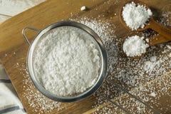 Zucchero in polvere confettieri dolci di Organaic fotografia stock libera da diritti